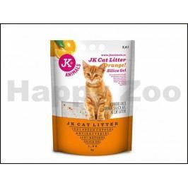 Podestýlka JK silikagel s pomerančovou vůní 1,6kg (3,8l)