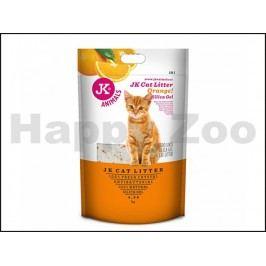 Podestýlka JK silikagel s pomerančovou vůní 4,3kg (10l)
