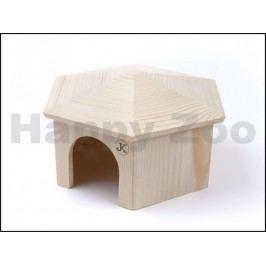 Dřevěny domek JK Jurta pro morčata 23x14cm
