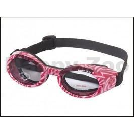Sluneční a ochranné brýle pro psy DOGGLES ILS Pink Zebra (XS)