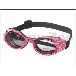 Sluneční a ochranné brýle pro psy DOGGLES ILS Pink Zebra (S)