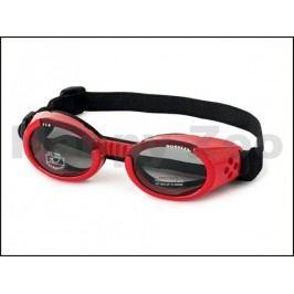 Sluneční a ochranné brýle pro psy DOGGLES ILS Red (XS)