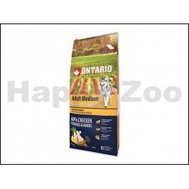 ONTARIO Adult Medium Chicken & Herbs 12kg