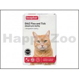Antiparazitní obojek BEAPHAR DIAZ Flea and Tick pro kočky 35cm