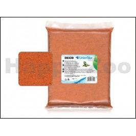 Terarijní písek UNIONSTAR Deco oranžový (0,7-1,2mm) 2kg