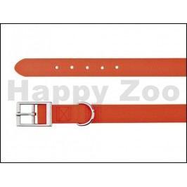 Obojek TRIXIE Easy Life PVC voděodolný neonový oranžový (S) 1,7x