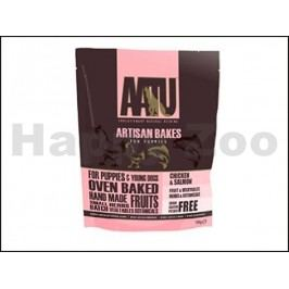 AATU Dog Artisan Bakes Puppy Chicken & Salmon 150g