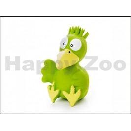 Hračka JK latex - ptáče zelené 13cm