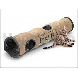 Tunel pro kočky EBI Pura Vida jutový 120x25x25cm