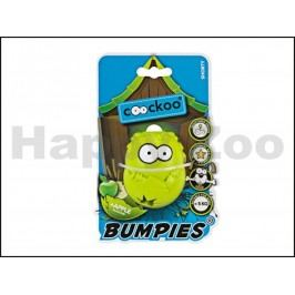 Hračka EBI guma - Coockoo Bumpies Shorty zelená 5,6x4,8x7cm (pro