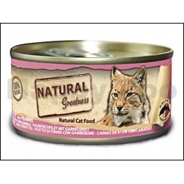 Konzerva NATURAL GREATNES Cat Tuna Fillet 70g