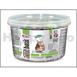 LOLO Basic pro křečky 2kg (3l) (vědro)