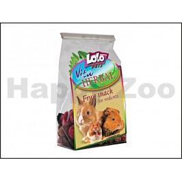 LOLO Vita Herbal ovocný snack pro hlodavce 50g