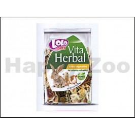 LOLO Vita Herbal zeleninové plátky pro hlodavce 150g