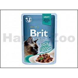 Kapsička BRIT Premium Gravy Beef Fillets 85g