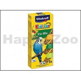 VITAKRAFT Kracker tyčky pro andulky - banán, kiwi, fík (3ks)