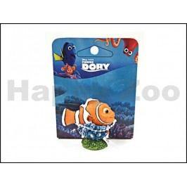 Akvarijní dekorace PENN PLAX Dory - Nemo 4,5x3,2x4,5cm