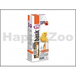 Tyčky LOLO Basic ovocné pro kanáry 90g (2ks)
