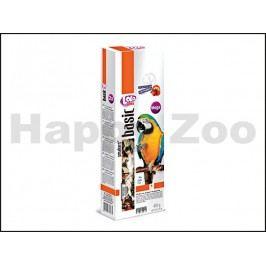 Tyčky LOLO Basic Mega ovocné pro velké papoušky 450g (2ks)