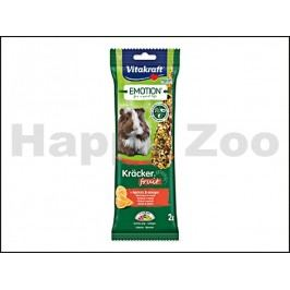 Tyčky VITAKRAFT Emotion Kracker Fruit Guinea Pig 112g (2ks)
