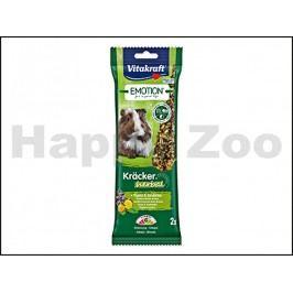 Tyčky VITAKRAFT Emotion Kracker Herbal Guinea Pig 112g (2ks)
