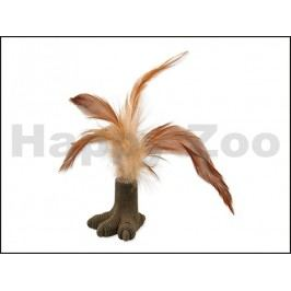 Hračka MAGIC CAT pro kočky - pařát s pírky a catnipem 7cm