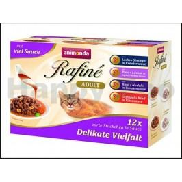Kapsička RAFINÉ Delicate Vielfalt Multipack (4x3x100g)
