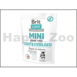 BRIT CARE Grain-Free Mini Light & Sterilised Rabbit & Salmon 400