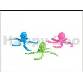 Hračka KARLIE-FLAMINGO plyš - chobotnice 12x8x39cm (MIX BAREV)