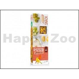 Tyčinky PUUR Pauze Snack - jablko a hruška pro kanáry 60g (2ks)