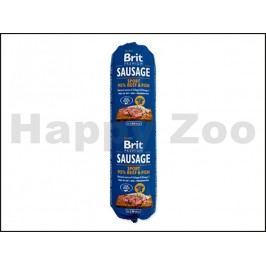 BRIT Sausage Sport Beef & Fish 800g