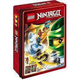 LEGO NINJAGO Dárková krabička: obsahuje minifigurku + 2 knížky