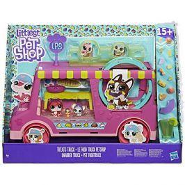 Littlest Pet Shop Cukrářský vůz s 3 zvířátky