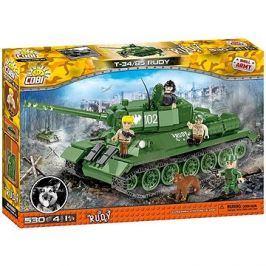 Cobi 2486 T-34/85 z filmu Čtyři z tanku a pes