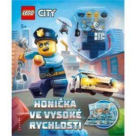 LEGO CITY Honička ve vysoké rychlosti: Osahuje rozkládací 3D kulisy a 2 minifigurky
