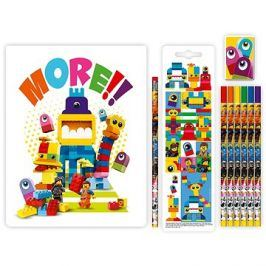 LEGO Movie 2 Stationery Set se zápisníkem Duplo