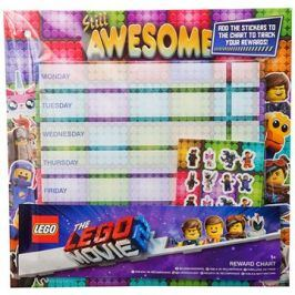 LEGO Rozvrh hodin s nálepkami
