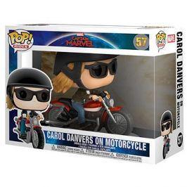 Funko Pop - Captain Marvel - Carol Danvers na motorce