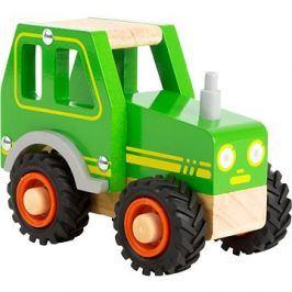 Small Foot Traktor zelený