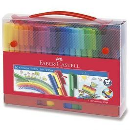 Faber-Castell popisovače Connector, 60 barev