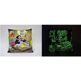 Luminiscenční polštář, Krtek malíř