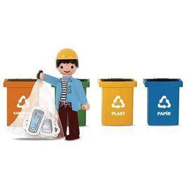 Igraček trio  - Třídíme odpad