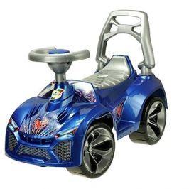 Auto modré