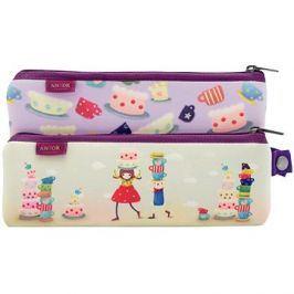 Kori Kumi Double Neoprene Pencil Case Set - Tea Party