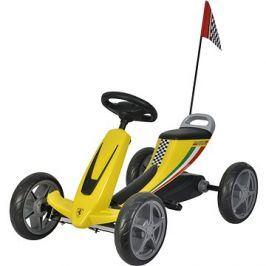 Buddy Toys šlapací kára - žlutá