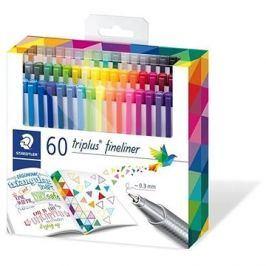 Staedtler Finelinery Triplus 60 barev