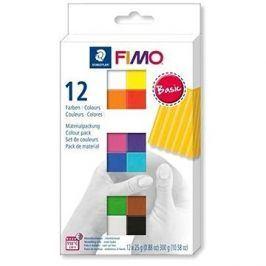 Fimo soft sada 12 barev Basic