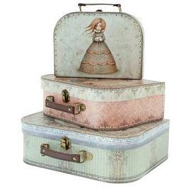 Mirabelle Nesting Suitcase Set