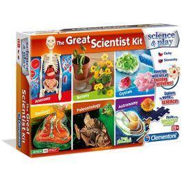 Clementoni Velký experimentální set 6 v 1