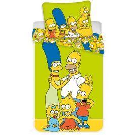 Jerry Fabrics ložní povlečení - The Simpsons Family
